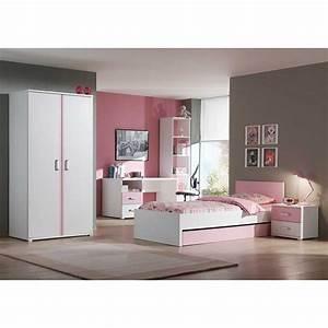 Kinderzimmer Set Mädchen : m dchen kinderzimmer francesca in wei rosa ~ Whattoseeinmadrid.com Haus und Dekorationen