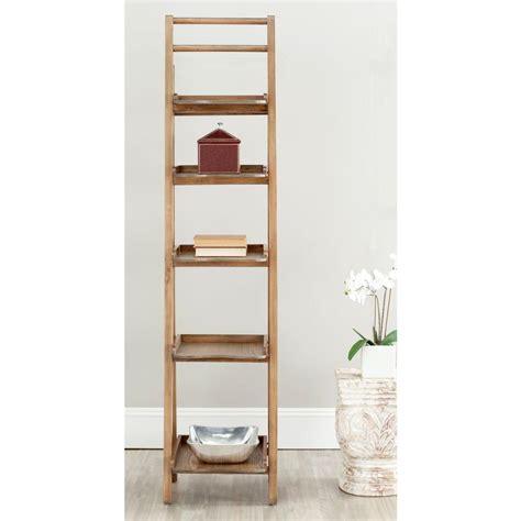 Ladder Etagere by Ospdesigns Corner 5 Shelf Ladder Bookcase In Espresso Es22