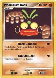 Pokémon Wham Bam Rock 4 4 - Rock Squeeze - My Pokemon Card