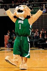 Ohio University Bobcat Mascot
