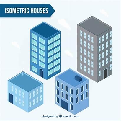 Vector Isometric Buildings Apartment Vectors Freepik Interior