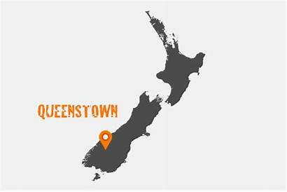 Queenstown Zealand Map Nz