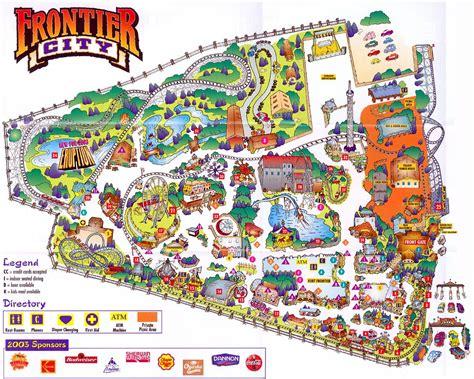 Theme Park Brochures Frontier City - Theme Park Brochures