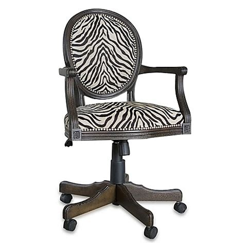 bed bath and beyond desk chair buy uttermost yalena swivel desk chair from bed bath beyond
