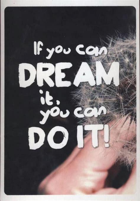 postkarte spruch motivation    dream