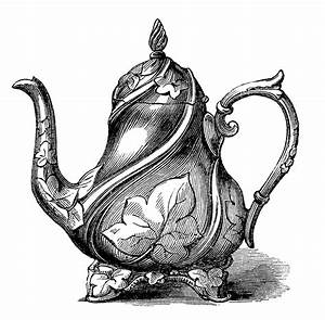 10 Best Teapot Clipart! - The Graphics Fairy