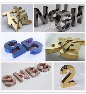 mirror stainless steel 3d letter laser cutting decorative With decorative metal letters and numbers