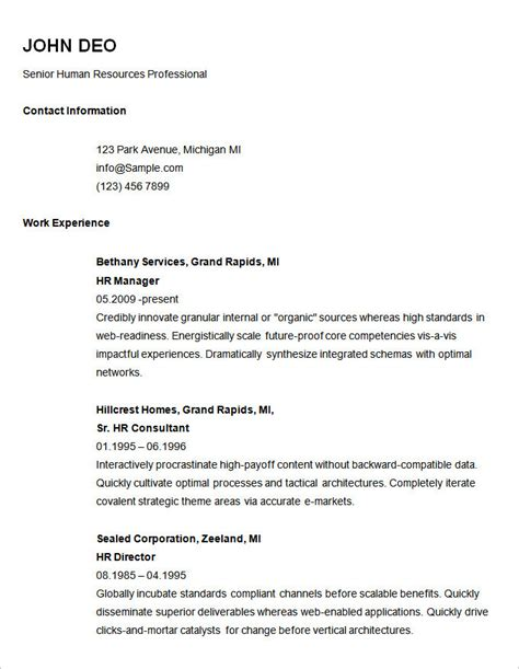 Resume Basic Template by Basic Forklift Inspection Checklist Template Templates