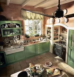 20 foto di cucine country chic per uno stile romantico e for Cucina stile country chic