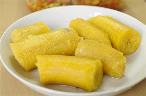 cuisiner les bananes plantain bananes plantains bouillies