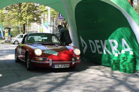bodensee klassik rallye  technische abnahme autobildde