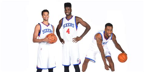 sixers exercise team options   players