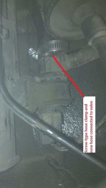 hose repair tutorial  pics evap emission hose