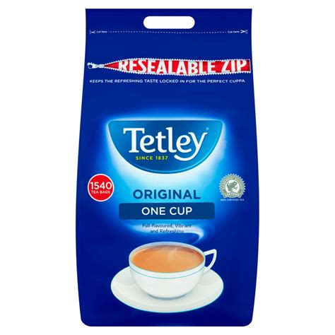 Robusta coffee beans offer a much richer, roasty taste and works really well in coffee blends that are paired with milk. Tetley One Cup Tea Bags x1,540 | Bestway Wholesale