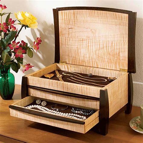 gem   jewelry box woodworking plan  wood magazine