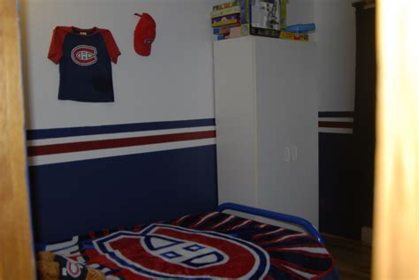 chambre canadien decoration chambre hockey canadien