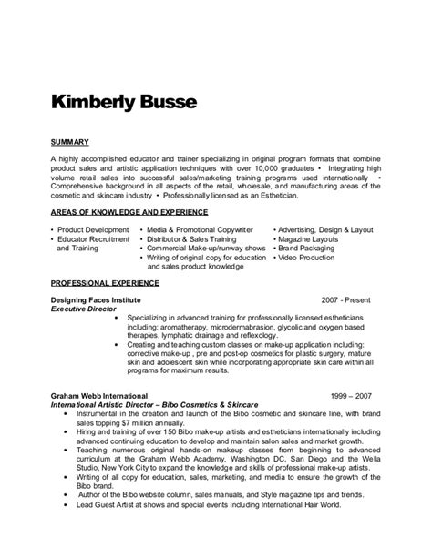 tanning salon owner resume busse resume