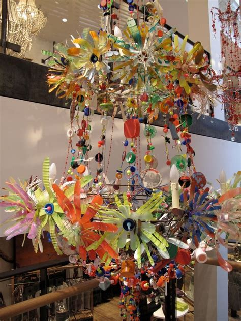 recycled water bottle chandelier i anthropologie bottle bottle chandelier and