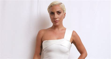 Lady Gaga Looks Stunning At 'a Star Is Born' Press Conference  Bradley Cooper, Lady Gaga Just