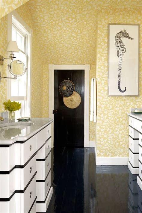 cheerful yellow bathroom decor ideas yellow bathroom