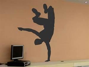 Coole Wandtattoos Jugendzimmer : wandtattoo breakdancer ~ Frokenaadalensverden.com Haus und Dekorationen