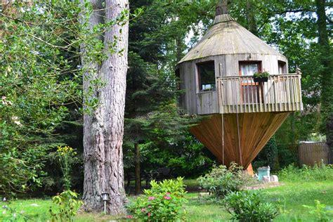 chambre d hotes dans les arbres cabane dans les arbres arbonne la foret seine et marne