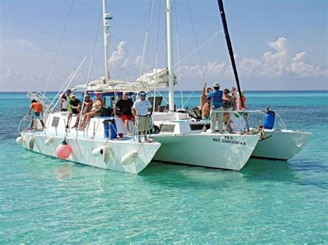Catamaran In Cozumel by Cozumel Catamaran Sail And Snorkel Excursion