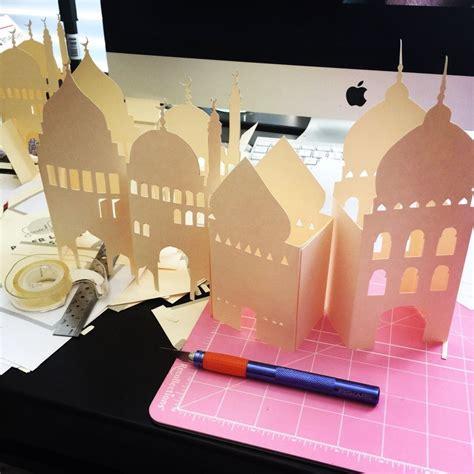 pop  card templates  ramadan ramadan diy mosque