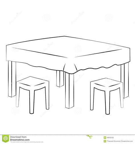 dining table with food clipart black and white book on table clipart black and white clipground