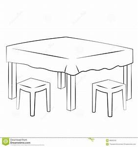 Dining Room Clip Art Black And White Clipart Collection ...