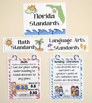 florida standards i can statements math amp ela 5th grade 671 | original 1377560 2