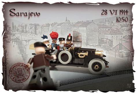 le si鑒e de sarajevo assassinat archiduc d autriche 1914 diorama lego brickmafia