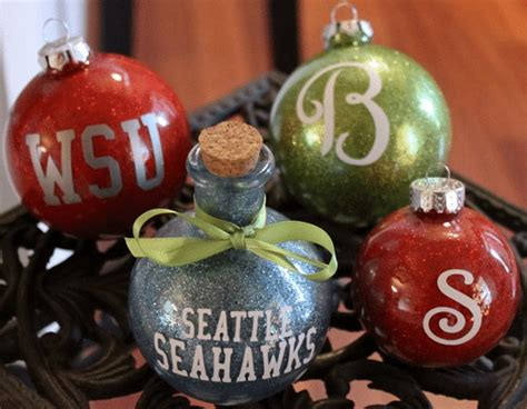 how to make personalized christmas ornaments homestead