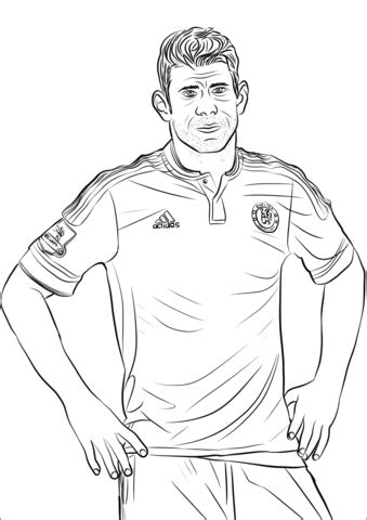 cristiano ronaldo coloring pages coloringpagesonlycom