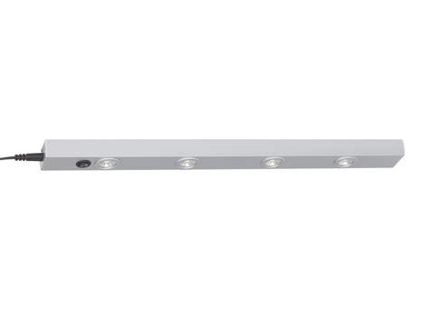 eclairage spot cuisine re d 39 éclairage avec 4 spots led en aluminium longueur