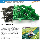 PET Click Lock Dry Skiing Flooring For Outdoor Dry Ski
