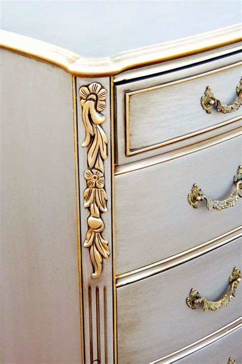 best 25 silver painted furniture ideas on