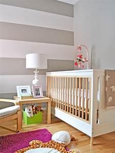 Zwei Wände Farbig Streichen : 115 fotos in ditas de quarto de beb decora o completa apartamento decorado pequeno ~ Markanthonyermac.com Haus und Dekorationen