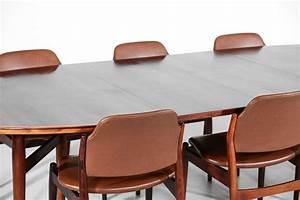 Table Et Chaises Scandinave : set grande table a manger et 6 chaises arne vodder 212 danois palissandre scandinave danke galerie ~ Teatrodelosmanantiales.com Idées de Décoration