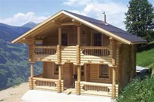 Holzhaus Zum Wohnen : holzhaus aus massiven rundbalken gruber holzhaus ~ Lizthompson.info Haus und Dekorationen