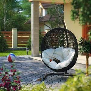 Chaise Suspendue Jardin : la chaise suspendue indispensable pour la d co de jardin ~ Teatrodelosmanantiales.com Idées de Décoration