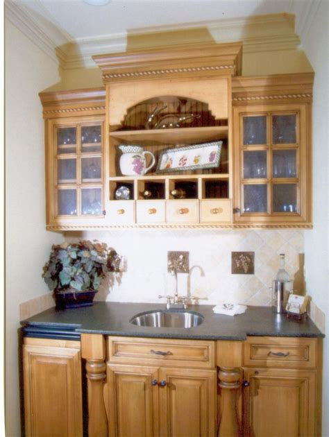 kitchen cabinets staining handmade small bar by woodworking unlimited inc 3247