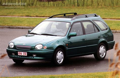 Toyota Corolla Wagon Specs & Photos  1997, 1998, 1999
