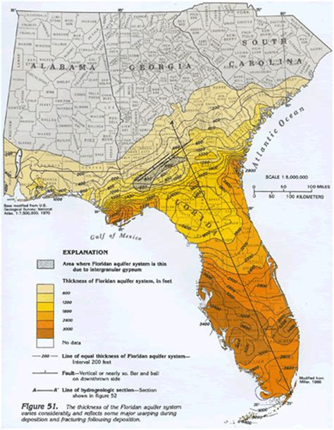 elevation map of florida my blog