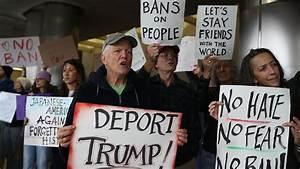 Immigration ban ends Donald Trump's stock-market honeymoon ...