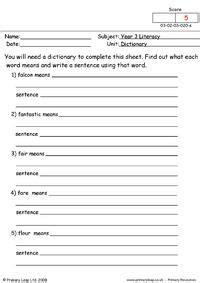 literacy words  oo worksheet primaryleapcouk