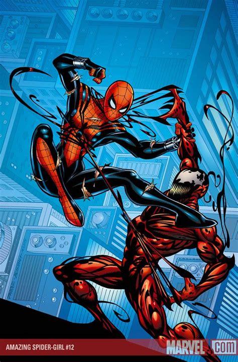spidergirl  carnage spider girl carnage marvel