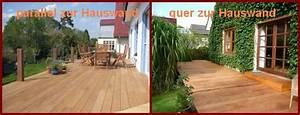 Holzterrasse Längs Oder Quer : verlegemuster f r holzterrasse wood lounge blog ~ Markanthonyermac.com Haus und Dekorationen