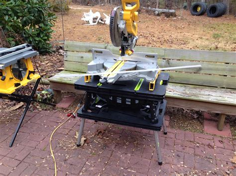 Job Site Portable Work Table