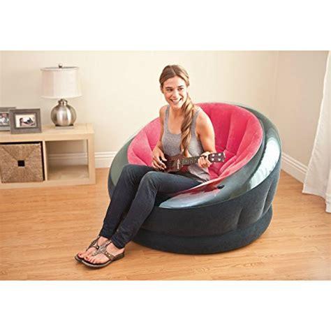 intex inflatable empire chair 44 quot x 43 quot x 27 quot color may